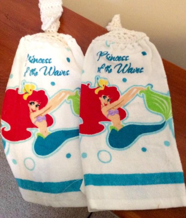 Little Mermaid Hand Towel Set