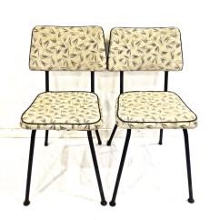 Retro Kitchen Chairs Chair City Oil Vintage 1950s 60s Mesco Mid Century Atomic