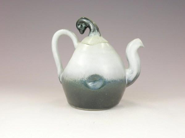 Fade Black Handmade Ceramic Teapot Antwarepottery