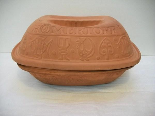 Vintage Terracotta Baking Casserole Romertopf Clay