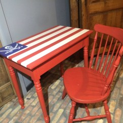 American Flag Chair Unique Leather Office Chairs Pirate Desk And By Lagrangeds On Etsy