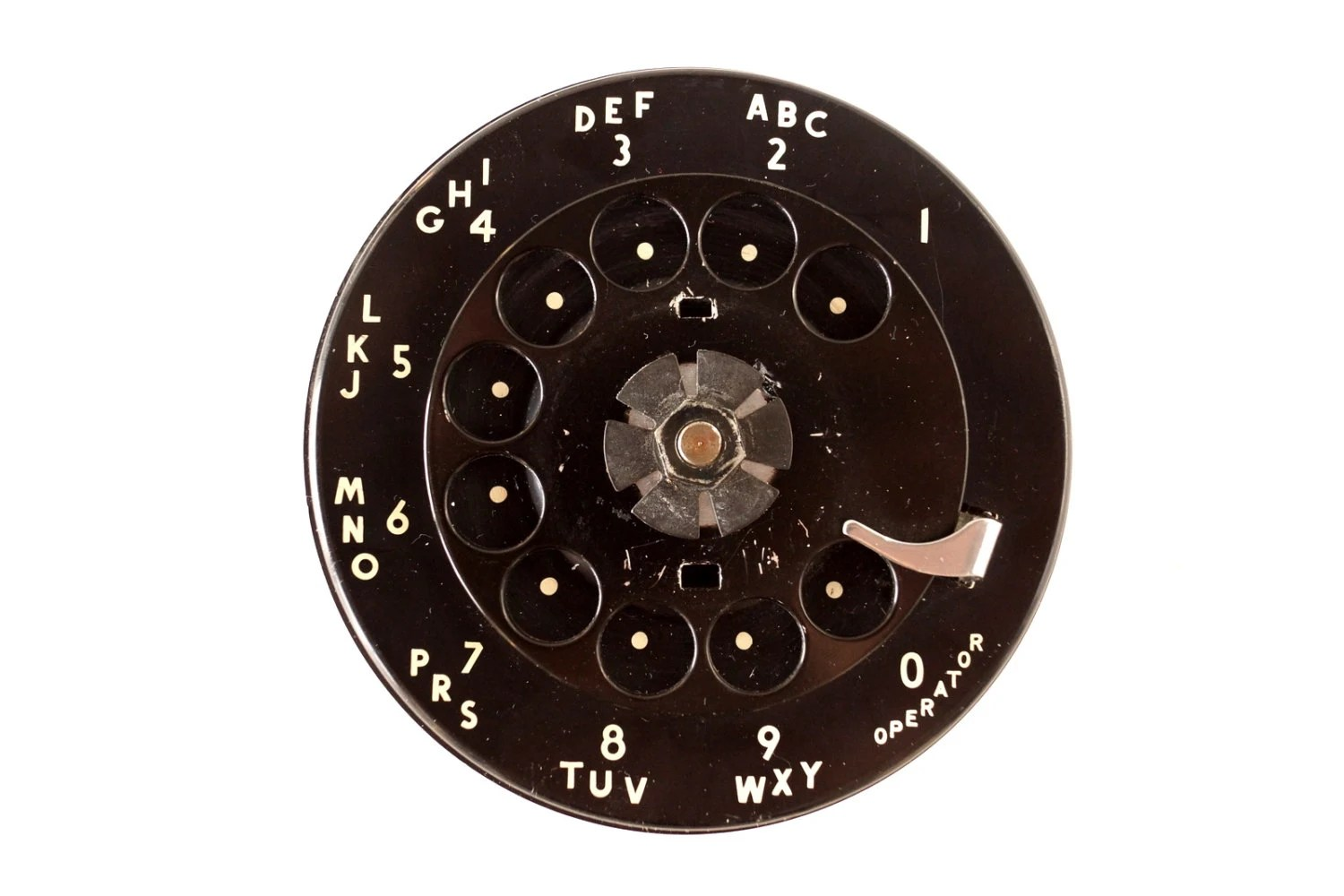 rotary dial telephone wiring diagram fujitsu inverter vintage in black with by