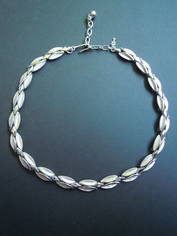 Vintage Trifari Silver Necklace