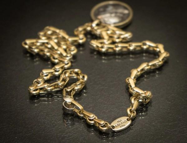 18k Solid Gold Italian Chain