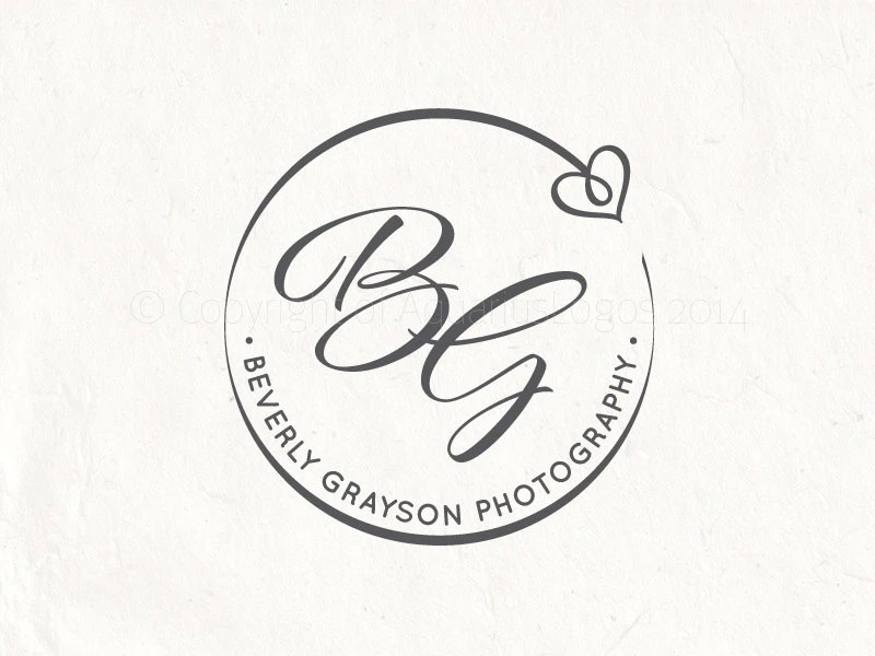 Photography logo premade logo design photography by