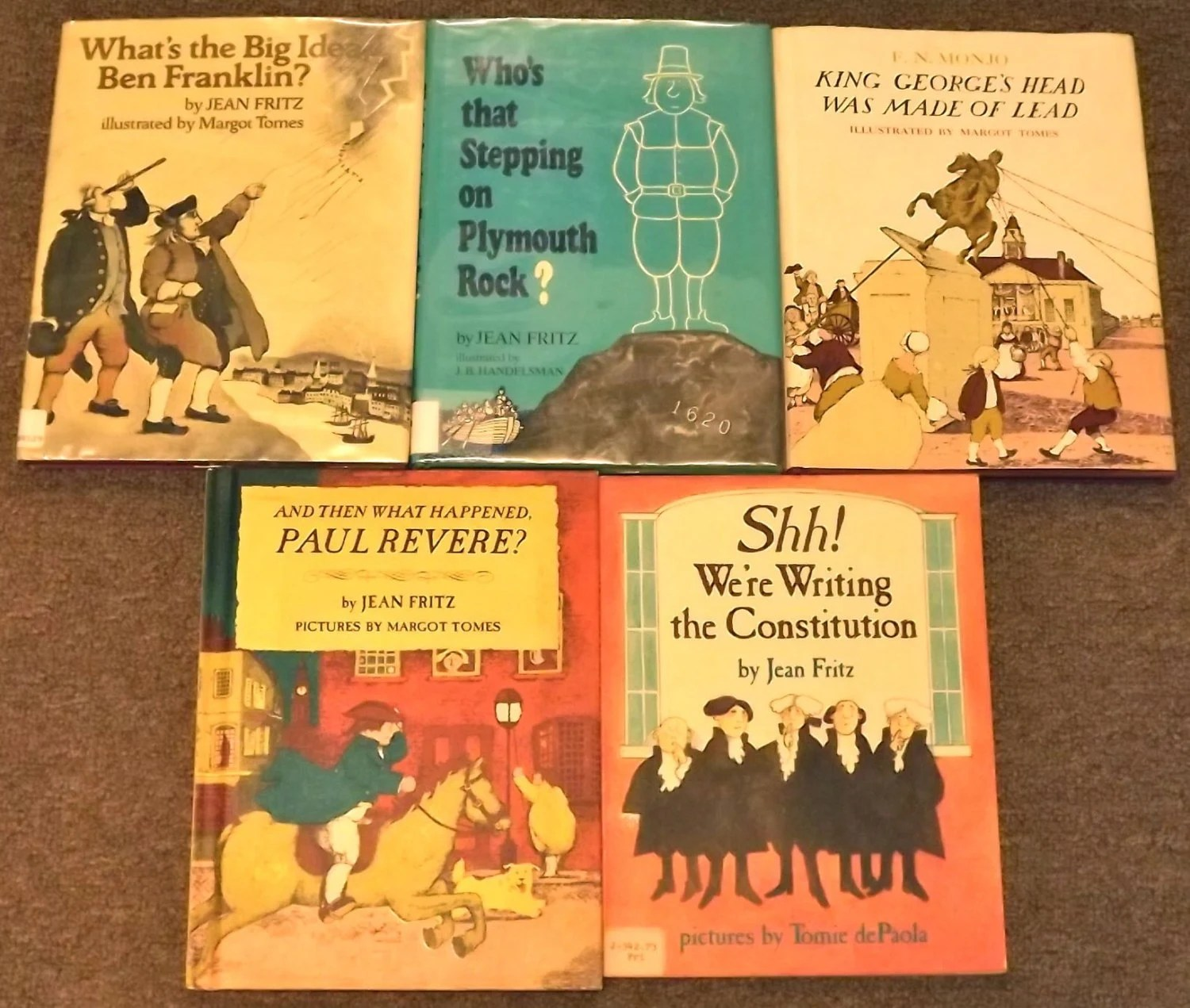 5 Books Shh We Re Writing The Constitution By Mainelykidsbooks