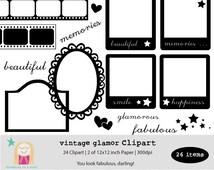 Popular items for polaroid clip art on Etsy