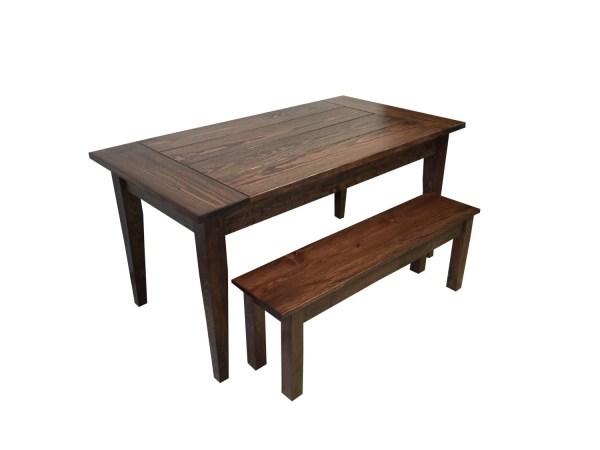 Red Mahogany Farmhouse Table Farm Table by