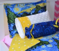 5 piece Starry Starry Night Reversible bedding set for