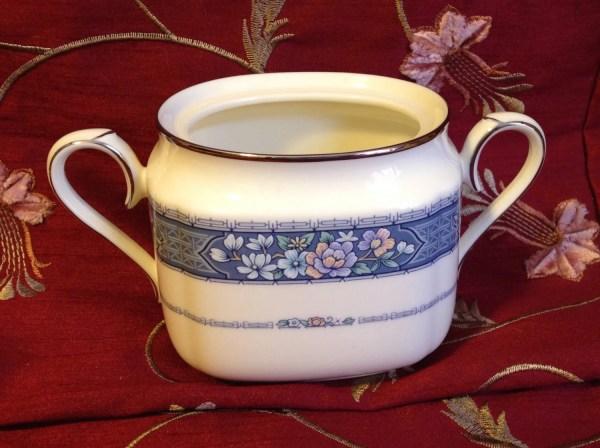 Vintage Noritake Sugar Bowl Randoph Pattern