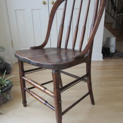Unusual Chair Legs Cheap Wood Chairs Unique Antique Vintage Bow Back Very Sturdy With