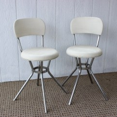 Costco Swivel Chair Thomas Moser Chairs Vintage Retro White Chrome  Haute Juice