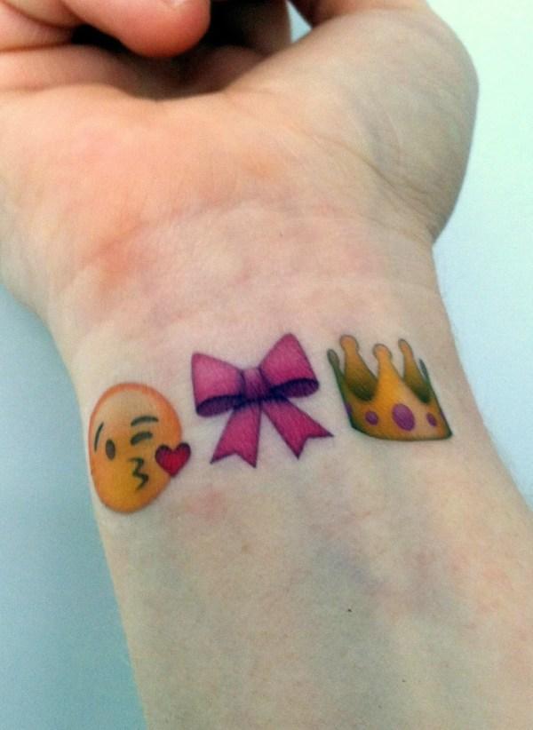 custom temporary tattoos emoji