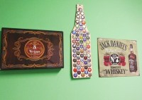 Beer Bottle Cap Holder Wood Beer Cap Display Beer by ...