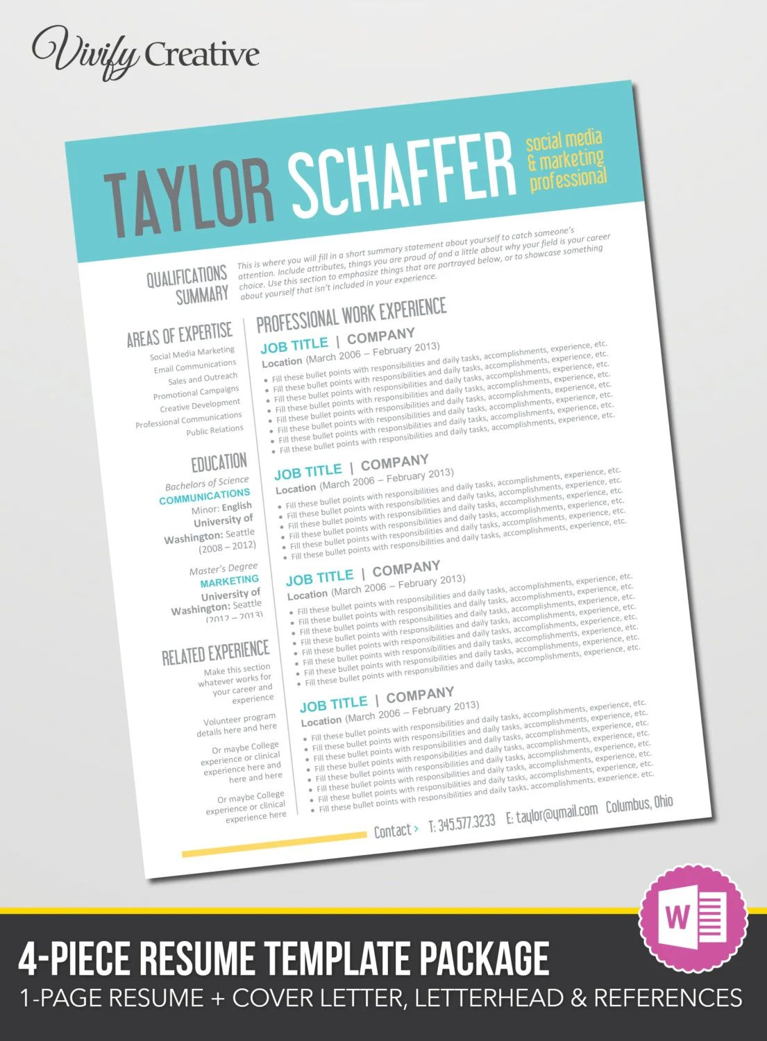 create a cover letter for a resume