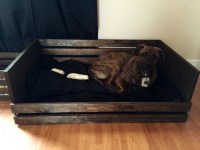 Rustic Dog Bed Frame Large