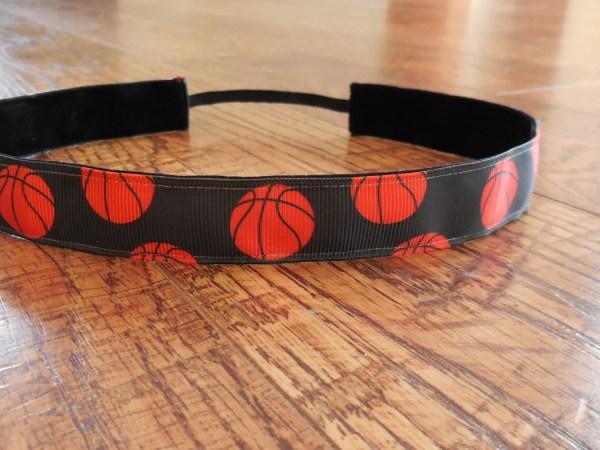 Basketball Headband. Girls Headband Athletic Adult