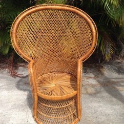 Vintage Peacock Chair Lowes Lounge Chairs Hollywood Regency Bohemian
