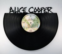 Recycled Vinyl Record ALICE COOPER Wall Art