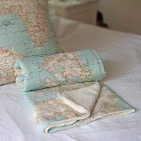 World map blanket