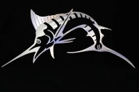 Marlin Metal Wall Art