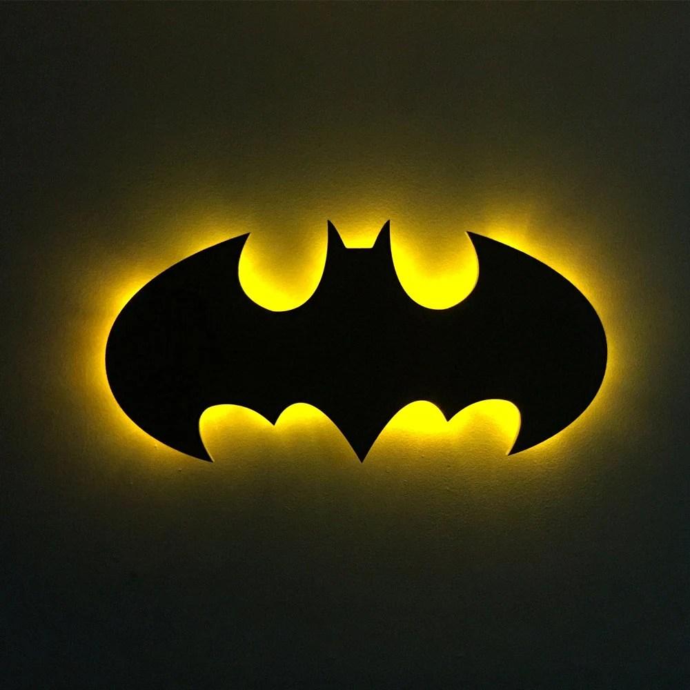 batman night light  Etsy