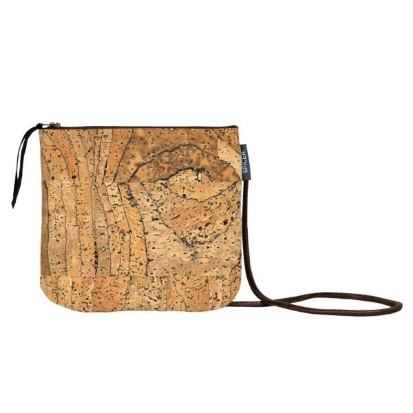 Small Cork Bag Vegan Crossbody Purse With Marble