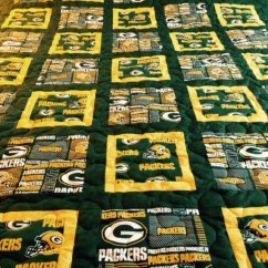 Sofa Bed Prices Oval Cushion Green Bay Packer Twin Size Quilt By Bobbinsisters On Etsy