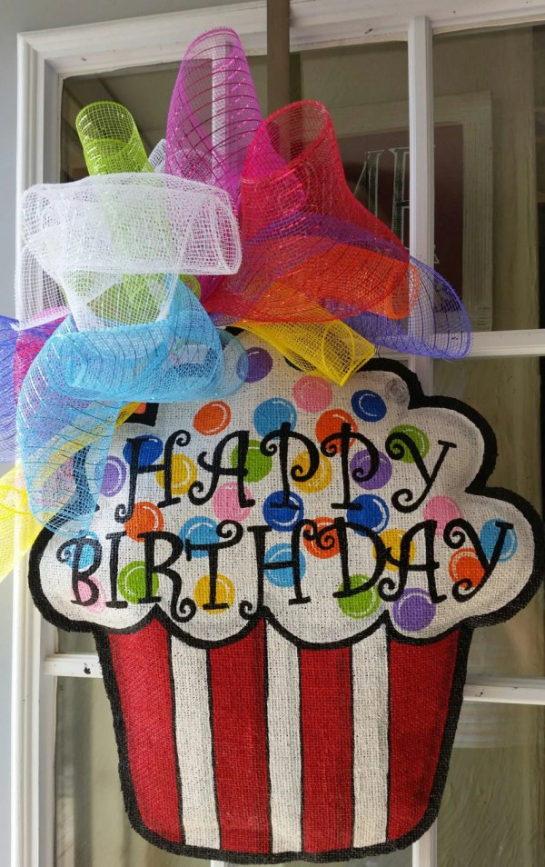 Happy Birthday Door Decorations