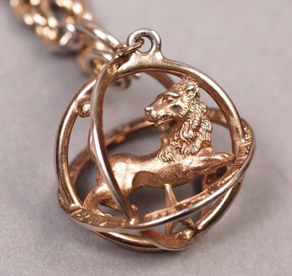 Trifari Leo Bracelet Necklace Zodiac
