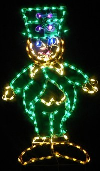 Items similar to Decorative Lighted St. Patrick's Wine ...