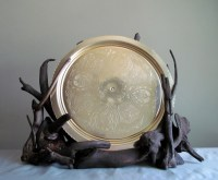 Driftwood Sculptural Plate Display Decorative Plate Holder