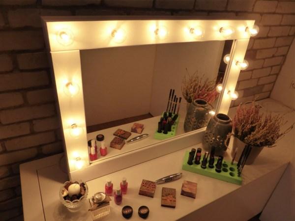 Make Mirror With Lights Vanity Crafterscalendar