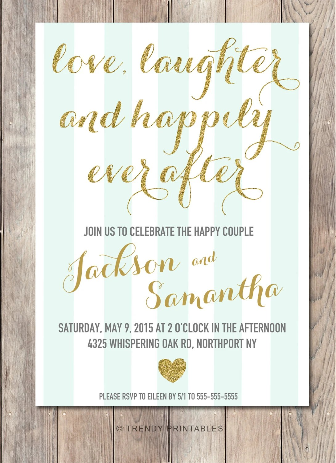 Engagement Party Invitation Printable Engagement Party