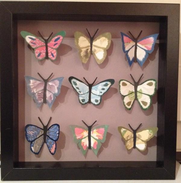 3D Paper Butterfly Art