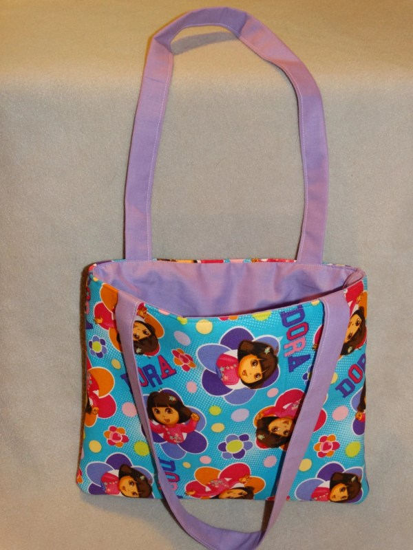 Dora Explorer Child Tote Bag Hayesbabycreations