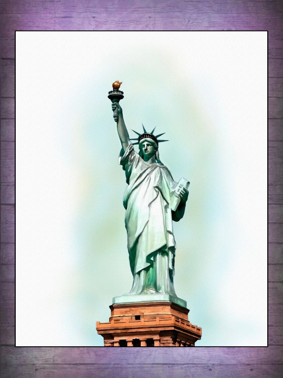 Statue Of Liberty Poster Statue Of Liberty By