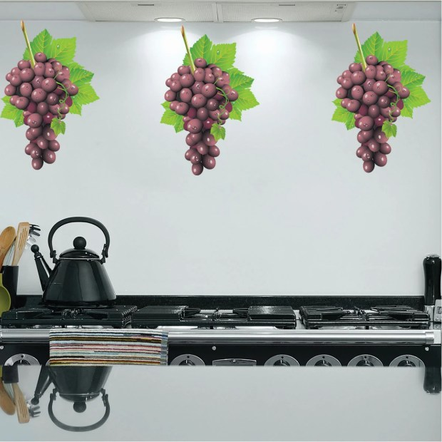 Grapes Wall Decor - Home Design Ideas