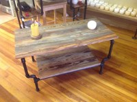 Black Pipe Coffee Table