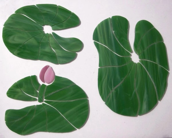 Pre-cut Stained Glass Mosaic Inlay Set Of