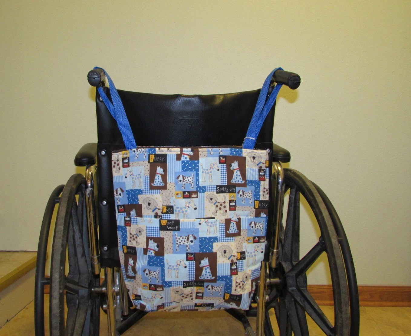 chair bags for school pattern power chairs and scooters small wheelchair tote bag dogs 335