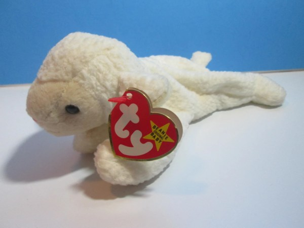 Vintage Ty Beanie Baby Lamb Fleece Free Shipping Njdigfinds