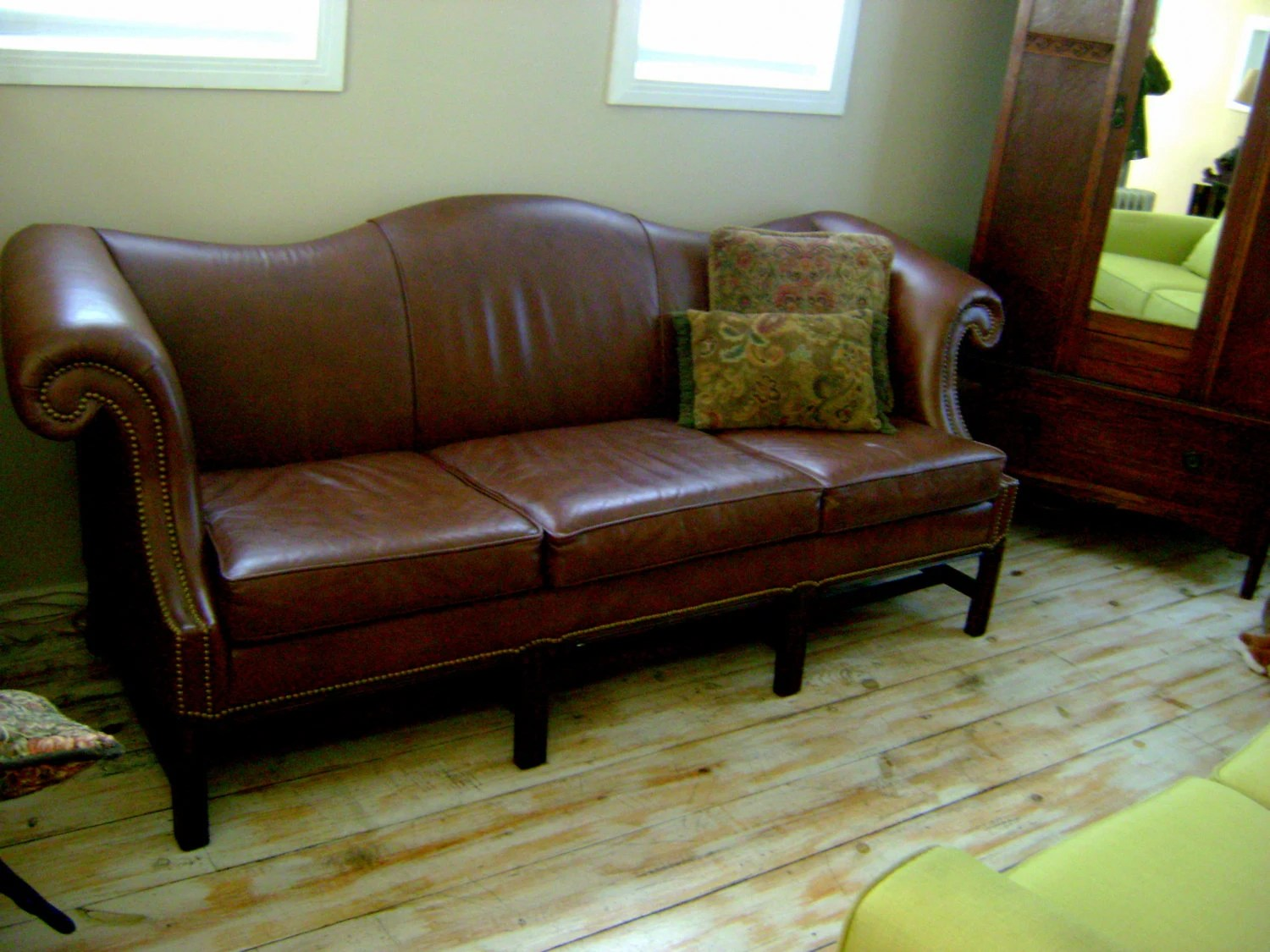 vintage camel back sofa peter andre leather by schafer bros