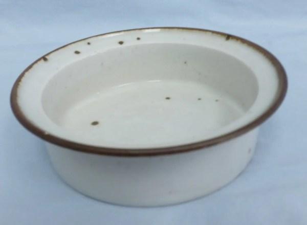 Dansk Pottery Brown Mist Soup And Cereal Bowl