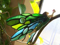 Items similar to Celtic Stained Glass Fairy on Etsy