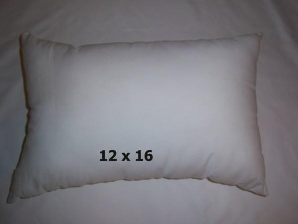 12x16 12 X 18 Pillow Insert