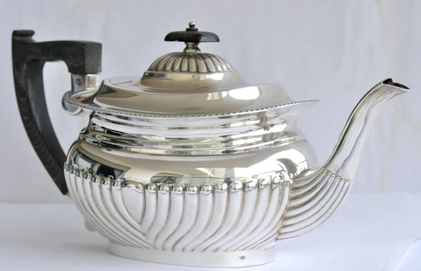 Antique Sterling Silver Teapot Tea Pot English