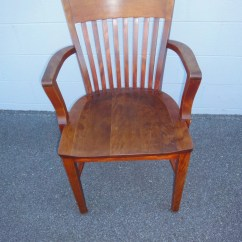Sikes Chair Company Hanging Frame Uk Antique Solid Walnut Office 1900 39s Co 1902