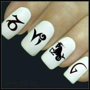 nail decal capricorn art 20