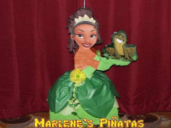 Princess Pinata. Tiana And Frog Tangled